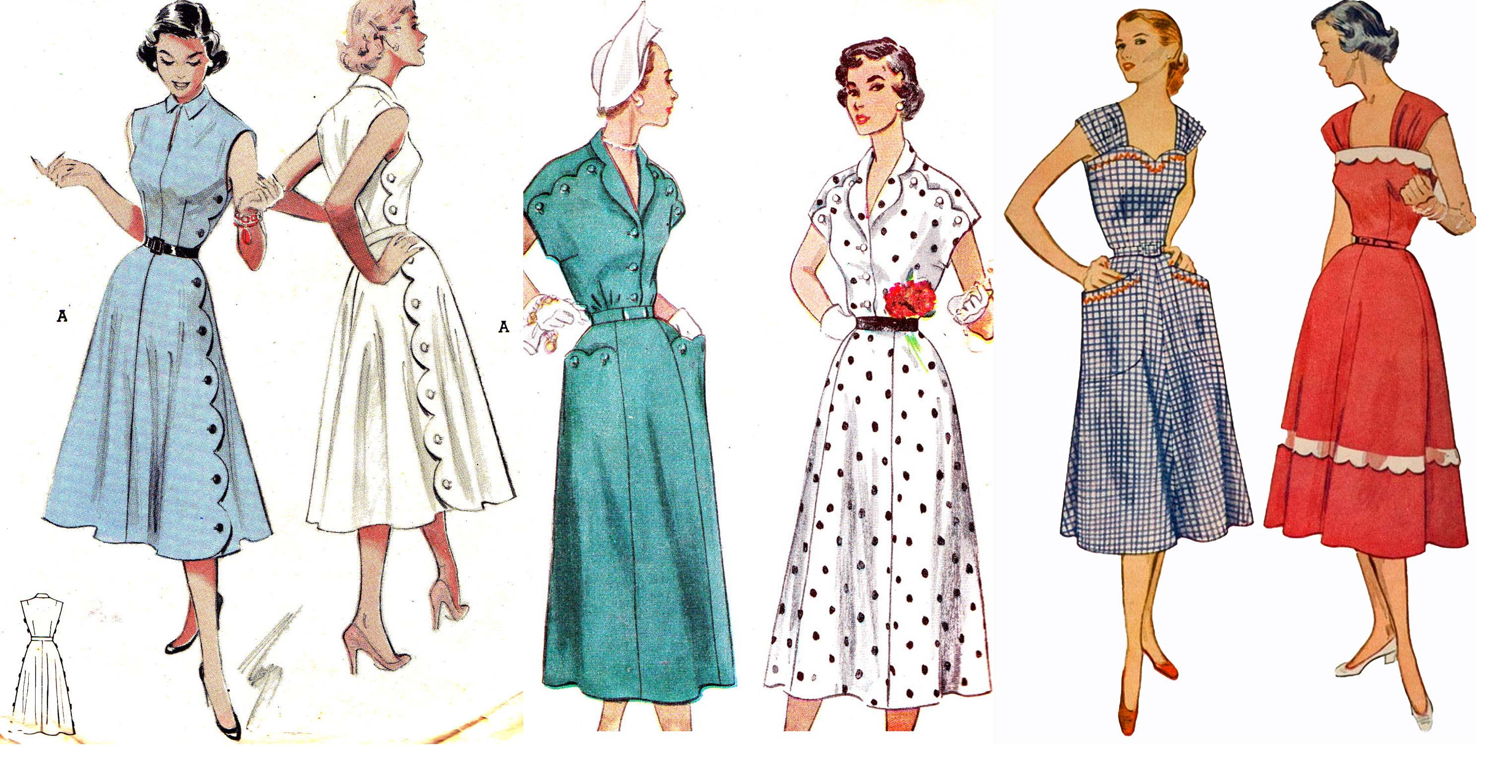 Fashion in the late 1950s 21