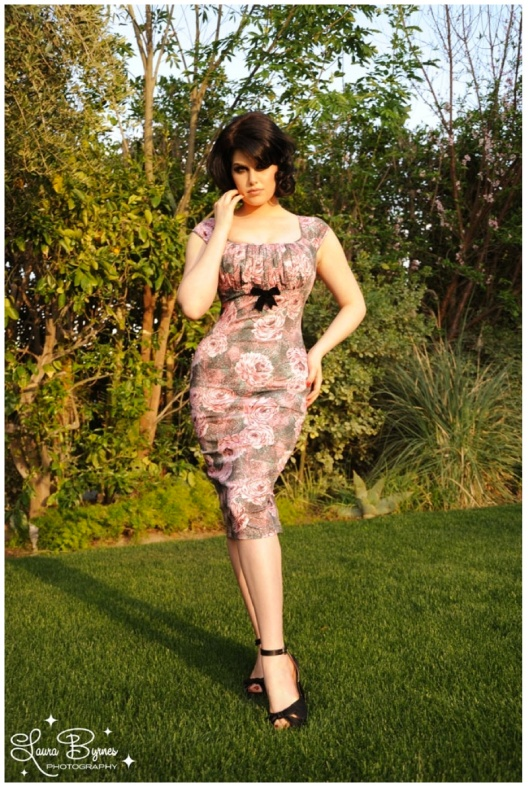 The Erika dress by Pinup Coutour