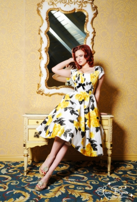 The Evelyn Dress by Pinup Couture