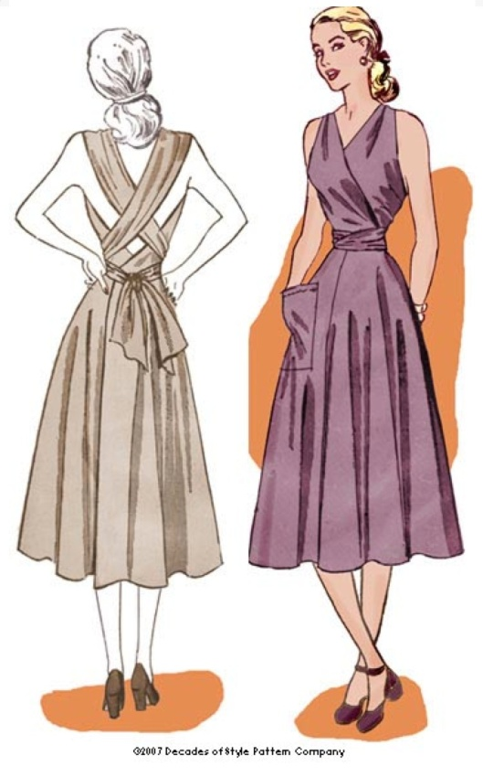 1948 Siren Sundress #4003