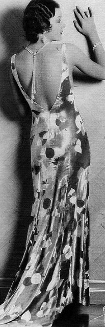 Myrna Loy backless dress 2