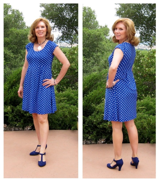 BluePolkadotDress