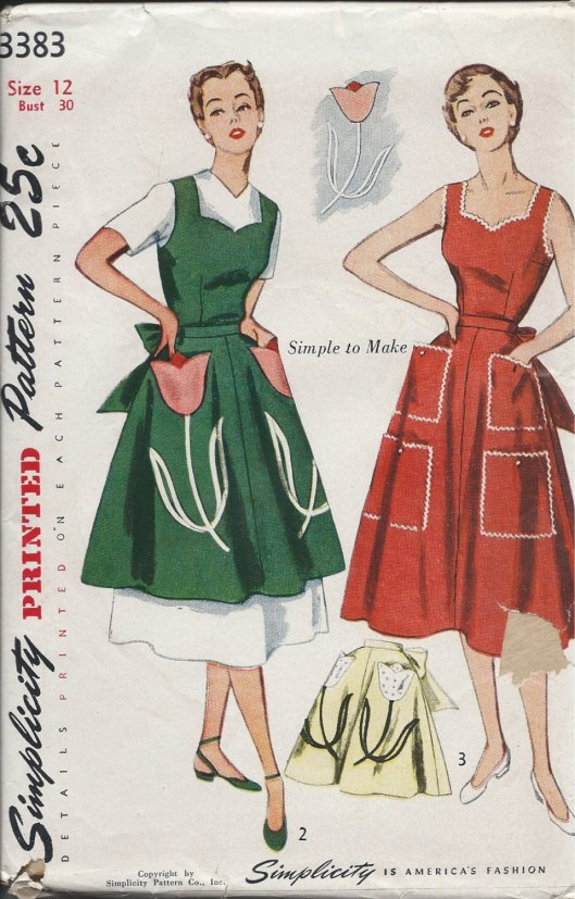 Simplicity 3383 front
