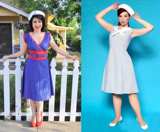 The Astro Dress and The Sailor Dress