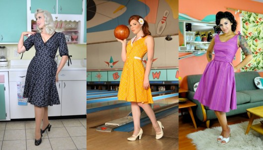 The Mallory, Betty Lou, & Mabeline Dresses