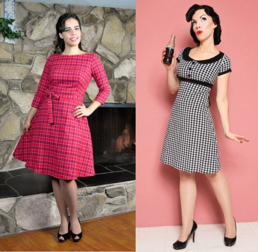 The Mitzi Dress and The Dolly Dress