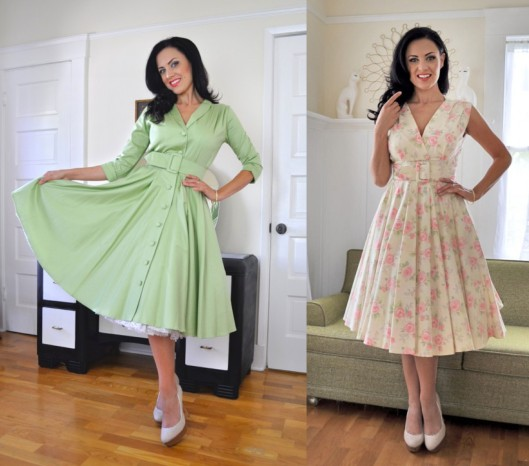 The Monte Carlo Dress and The Milan Dress