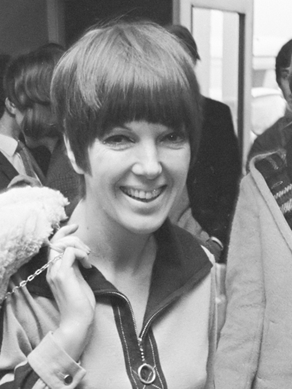Mary Quant in 1966