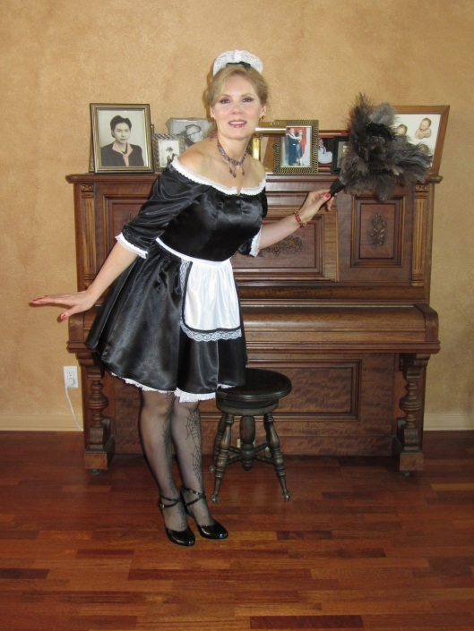 Christina Troxel French maid 1