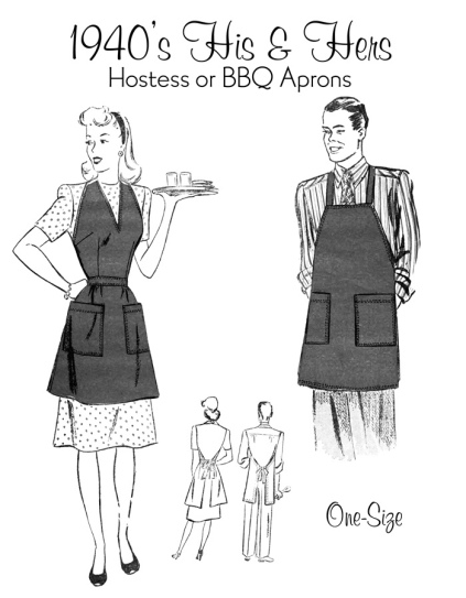 His n Hers aprons