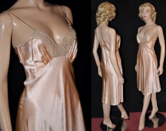 1930 silk charmeuse