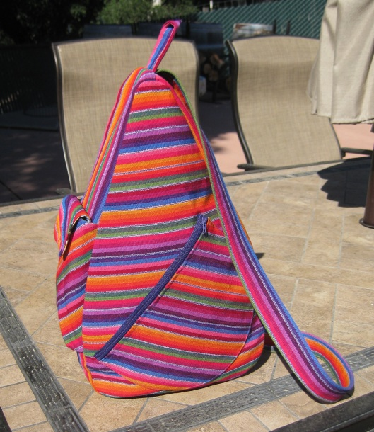 Mex stripe gym bag a