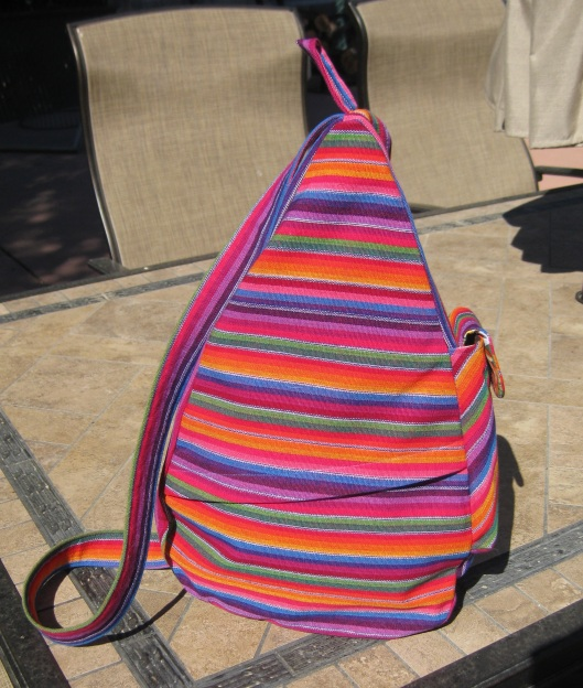 Mex stripe gym bag c