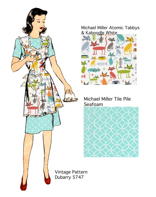 Dubarry 5747 Atomic Kitty Apron