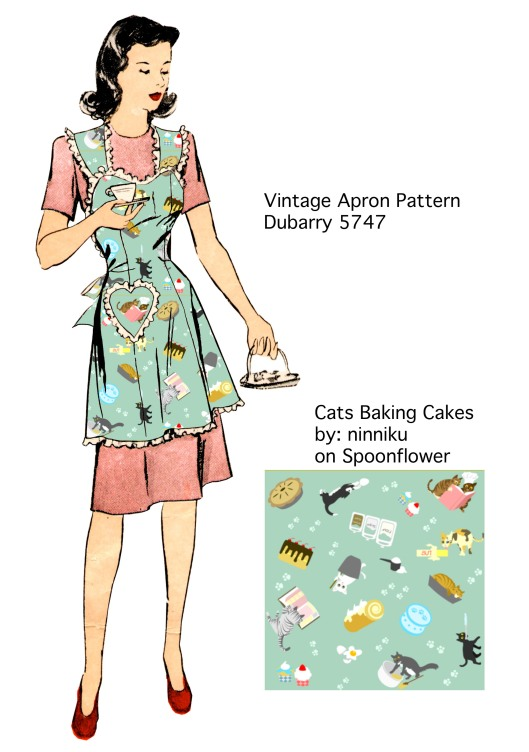 Dubarry 5747 Cats Baking Cakes Board