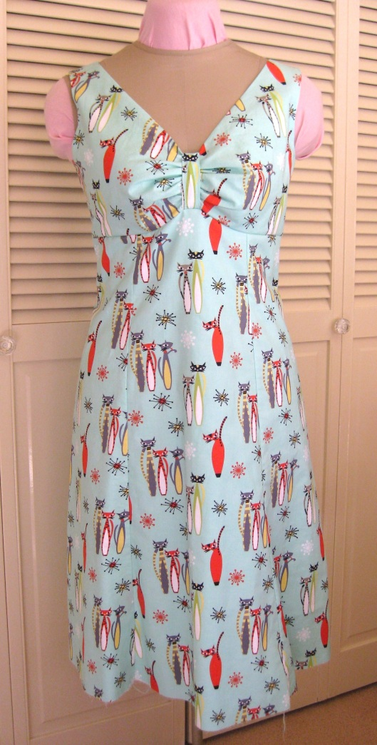 Atomic Cats dress 1
