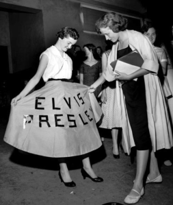 bw elvis skirt