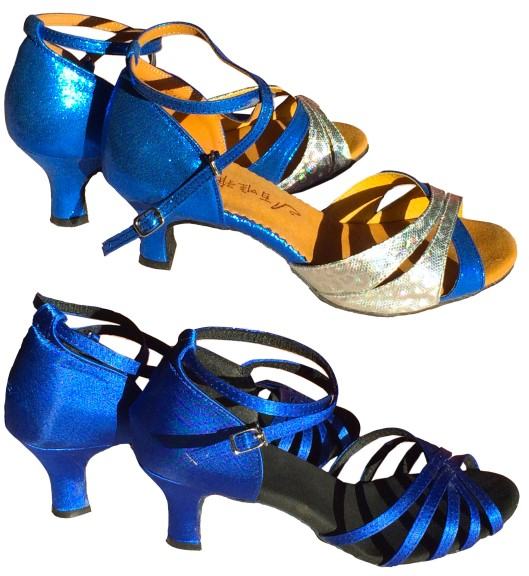 Royal Blue dance shoes