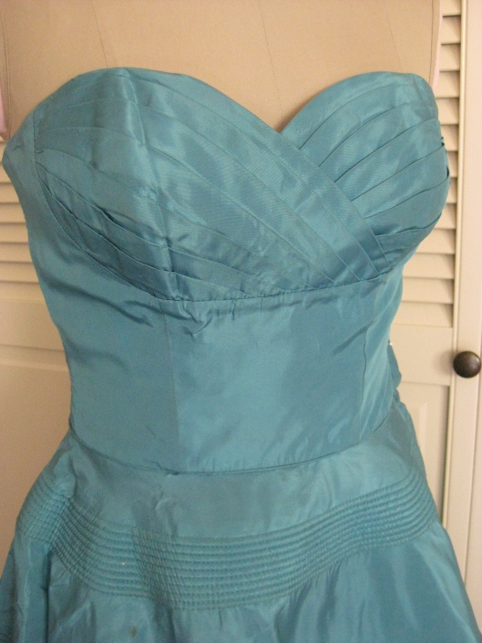 1950 Turquoise dress 02